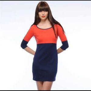 BB DAKOTA NWT Colorblock Knit Dress